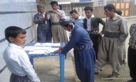 כפריים בכורדיסטן חותמים על מכתב מחאה שישלח לממשל