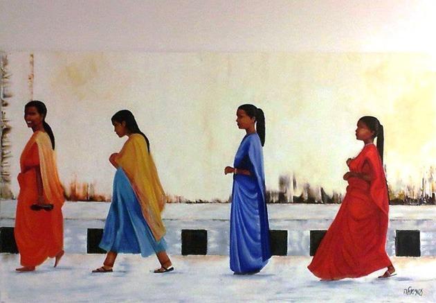 """עמיאלה מלצר, מתוך התערוכה """"על כנפי השקטי"""""""