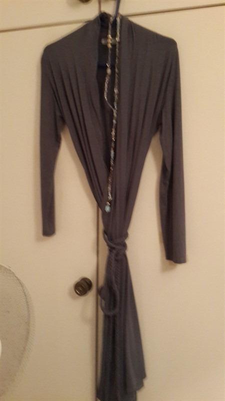 שמלה אפורה יפה_450x800