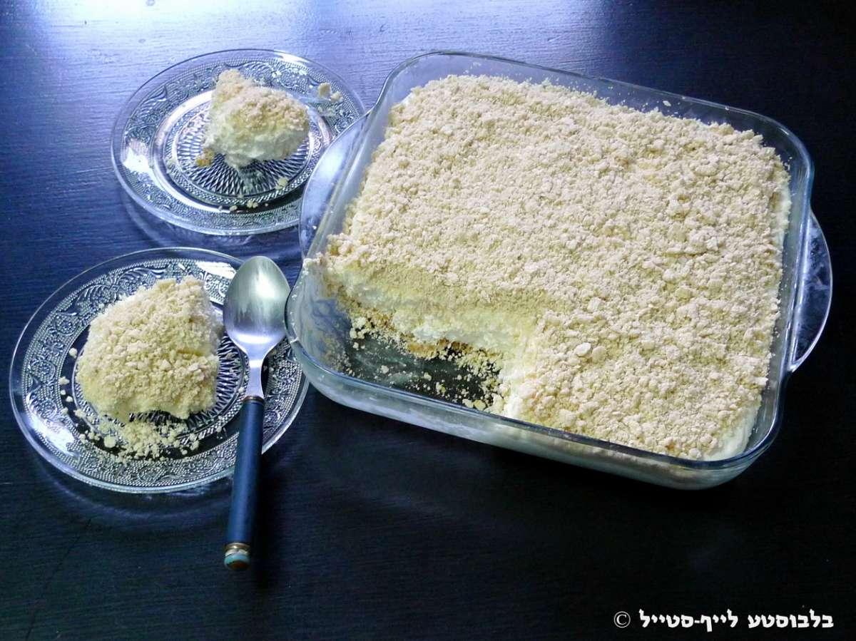 עוגת וופלים וניל-לימון עדי קאופמן