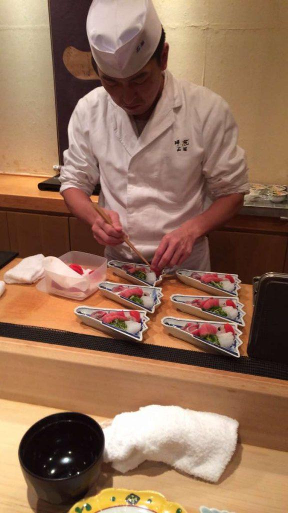 מבחירת השף בסושייה נחשבת. צילום: יניב פוגל