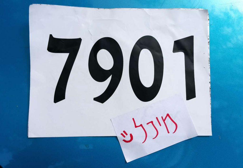 מלכה בפוטנציה - הולכת אל הלא נודע! מספר חולצה 7901. מיונים, מלכת המדבר 2015