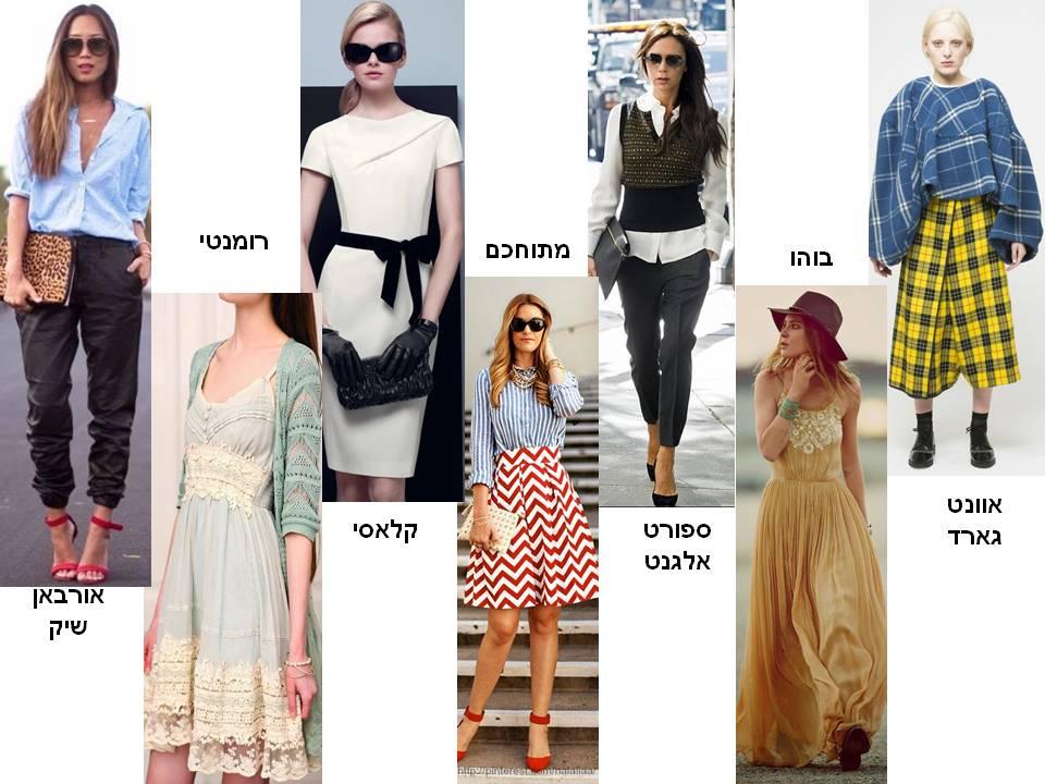 סגנונות אופנה