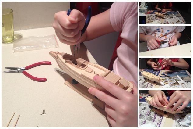 building yacht
