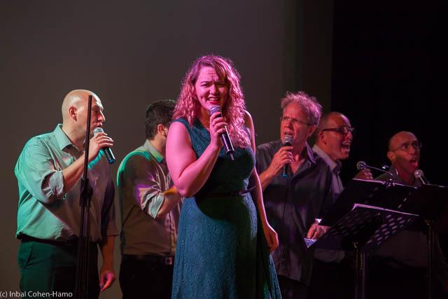 לי טפרברג, משה אפרתי ומקהלת רנות בשיריה של רבקה מיכאלי