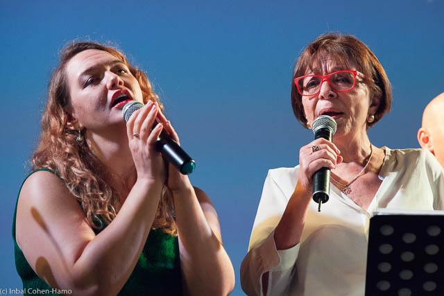 רבקה מיכאלי ולי טפרברג