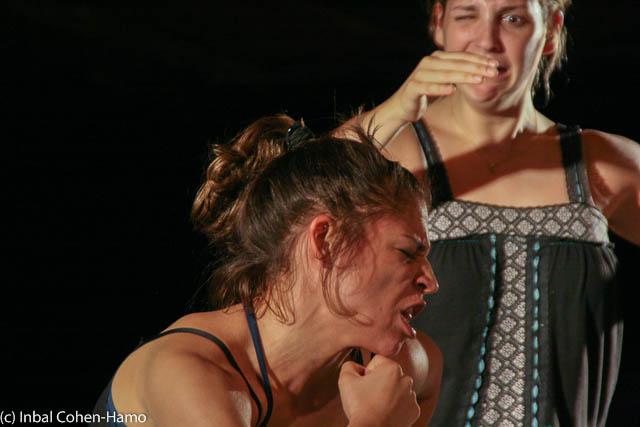 פסטיבל דרך הגוף 2010 - מתוך חזרה למופע של נדין בומר