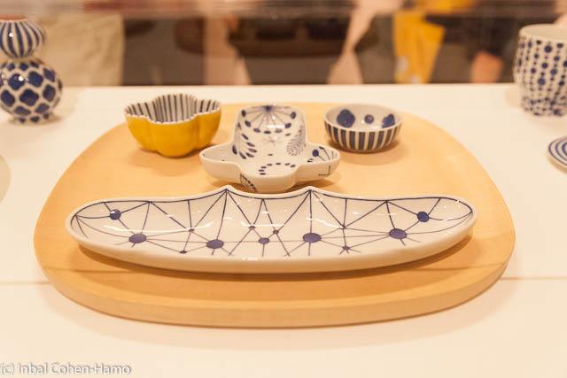 כלים של חיון בטכניקה יפנית מסורתית. צילום: ענבל כהן חמו