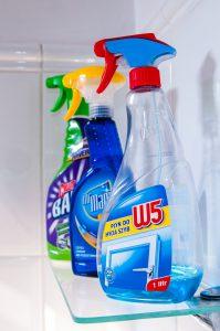 חומרים לניקיון הבית