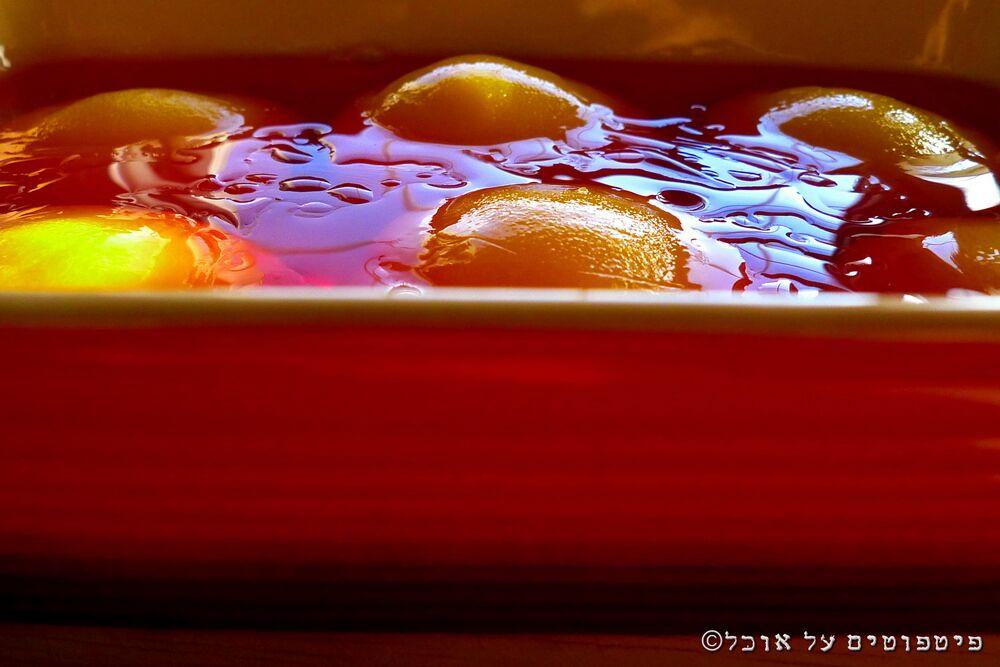 ג'לי תות ואפרסקים של עדי קאופמן הבלבוסטע במטבח