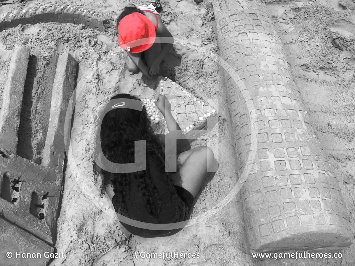 GamefulHeroers משחקים בארגז החול