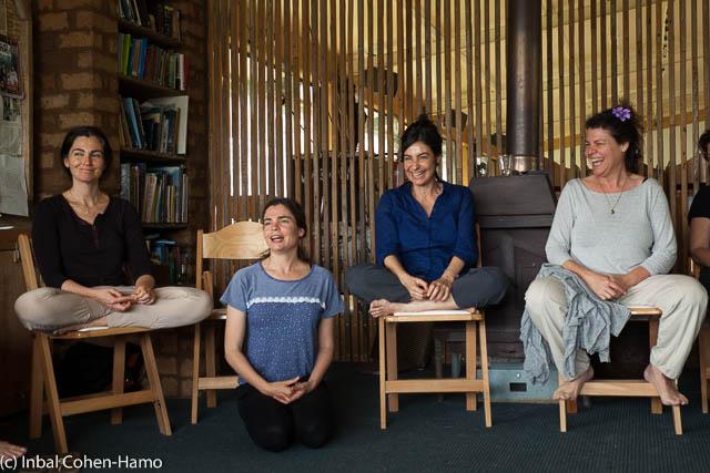 האחיות ורטהיים: מימין לשמאל - מירב, נועה, רינה וטלי. צילום: ענבל כהן חמו