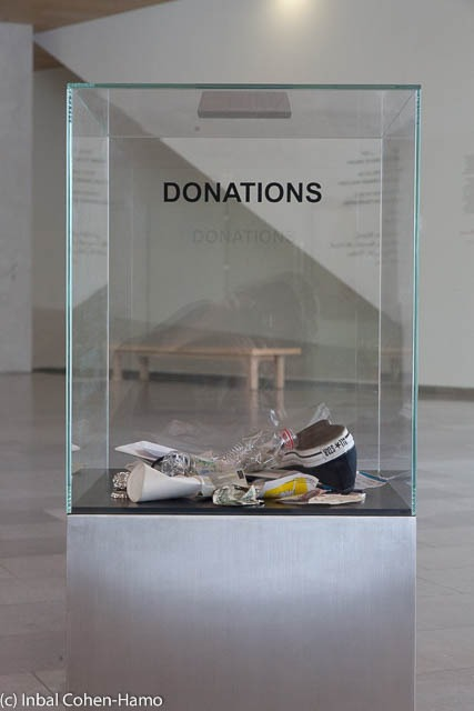 אלמגרין ודראגסט, תיבת תרומות. צילום: ענבל כהן חמו