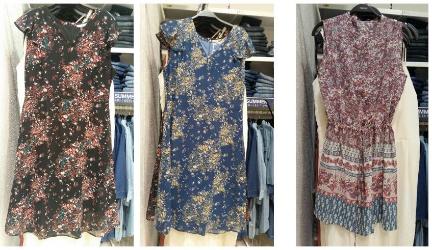 פרחוני שמלות