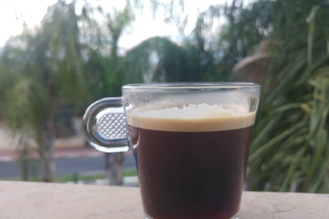 קפה מושלם של בוקר