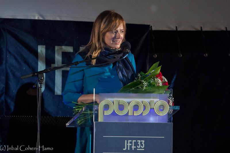 אמה סוארז בפתיחת פסטיבל הקולנוע. צילום: ענבל כהן חמו