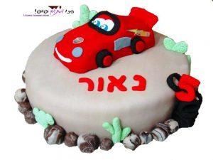 עוגת מכוניות, עוגות יום הולדת לקטנטנים - הכי מתוק שיש