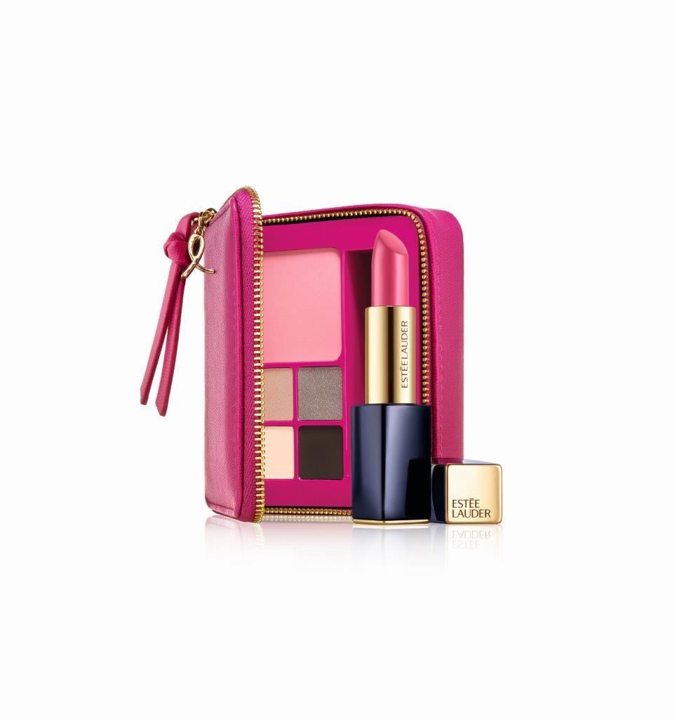 Estee Lauder Pink Perfection Color Collection - BCA2016 - מחיר מלא לצרכן 235 שח - להשיג בלעדית בסופר פארם - קרדיט צילום יחצ חול