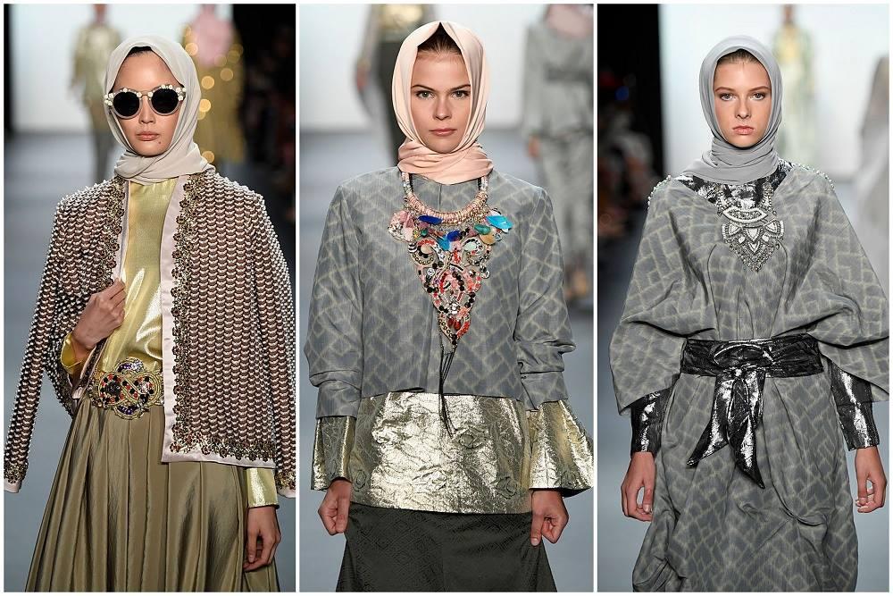 קרדיט - Anniesa Hasibuan during New York Fashion Week: צילום: gettyimages