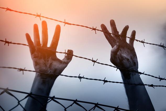 כלוא במחנה (צילום: שאטרסטוק)