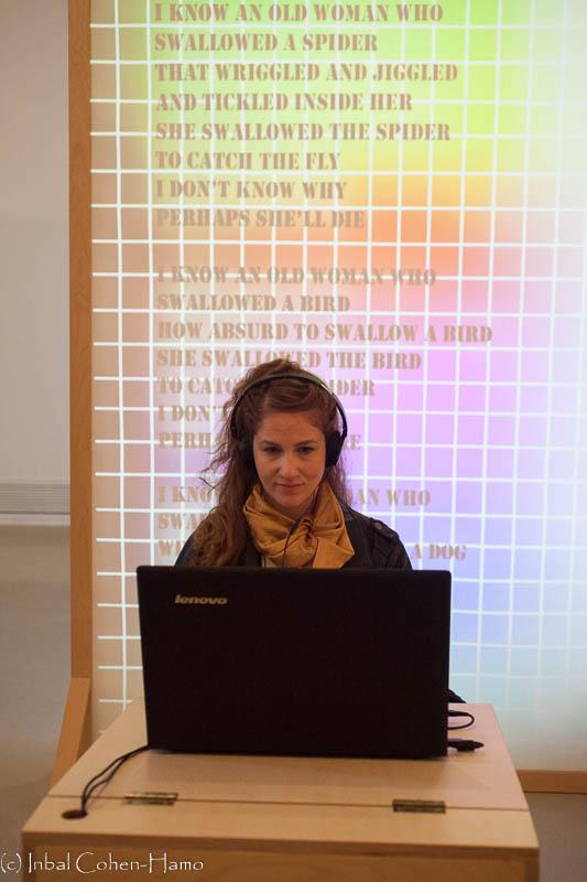 מיצב ווידאו של אלונה פרידברג
