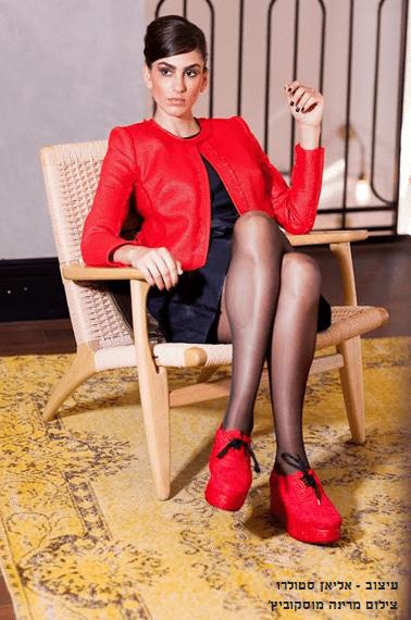 קוד לבוש גלית שרון ,  עיצוב אליאן סטולרו