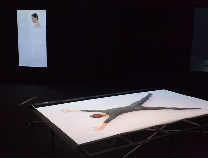 הילה בן ארי - שתי עבודות מתוך התערוכה. צילום: ענבל כהן חמו