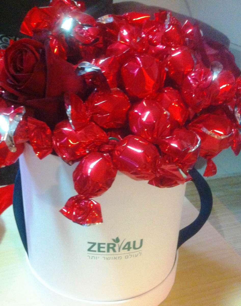 זר שוקולדים עצום ומרשים של ZER4U