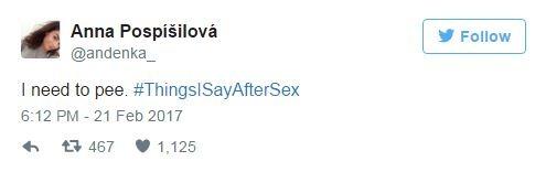 ציוץ סקס מצחיק