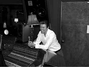 bowie with piano