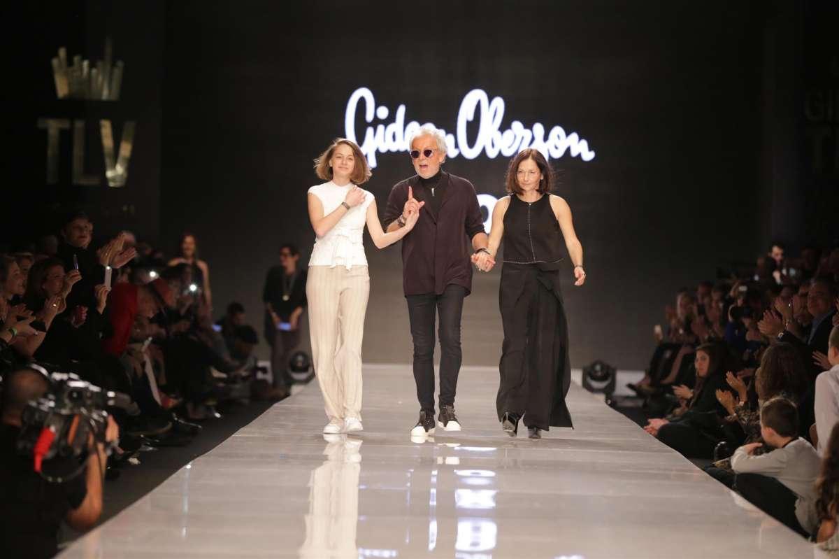 תצוגת קארן וגדעון אוברזון שבוע האופנה גינדי צילום אבי ולדמן (94)