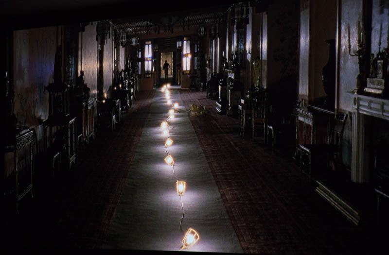 """שביל של אורות בארמון. פיונה טאן, מתוך """"אבדן הזיכרון"""""""