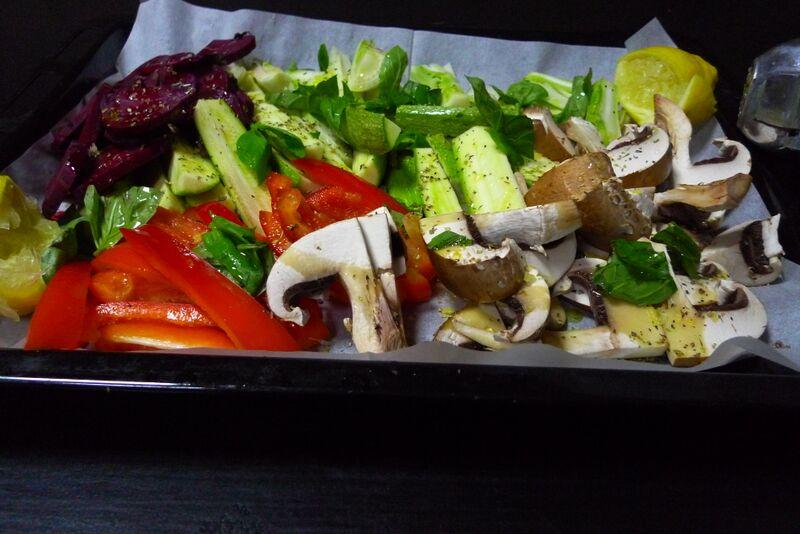 ירקות לצלייה עדי קאופמן הבלבוסטע במטבח