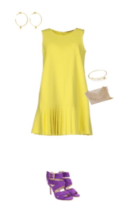 צהוב וסגול