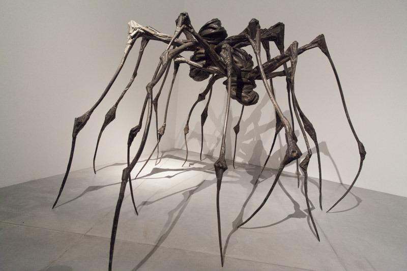"""""""זוג עכבישים"""", לואיז בורז'ואה, 2003. צילום: ענבל כהן חמו"""