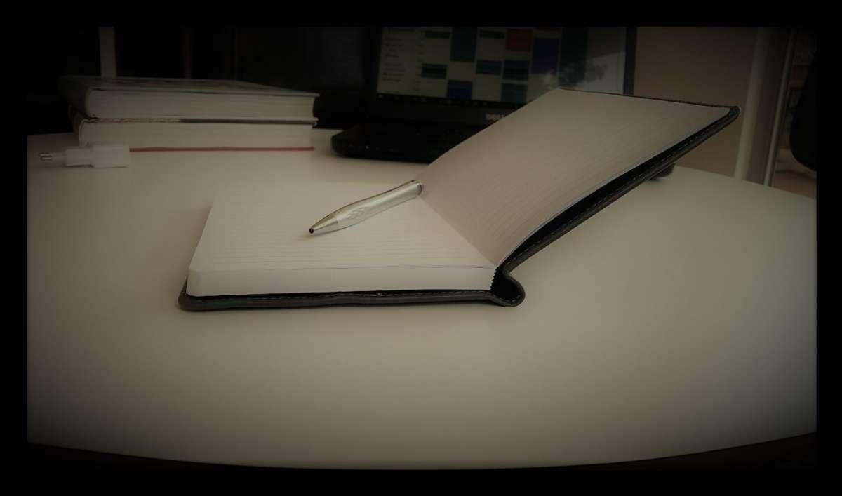 התחלתי לכתוב ביומן. צילום: דניאל לוצקי