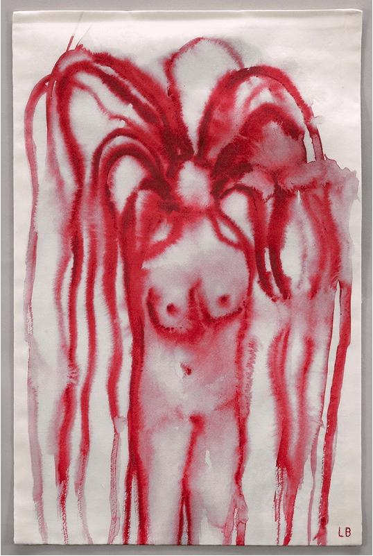 לואיז בורז'ואה, נערה עם שיער, 2007-9