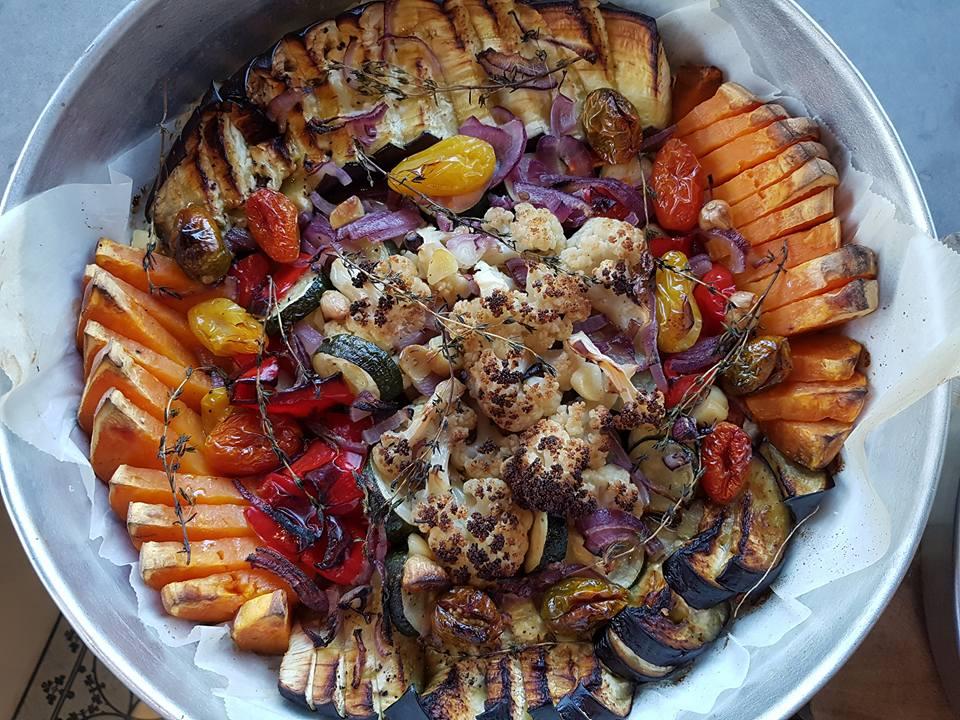 ירקות בתנור1