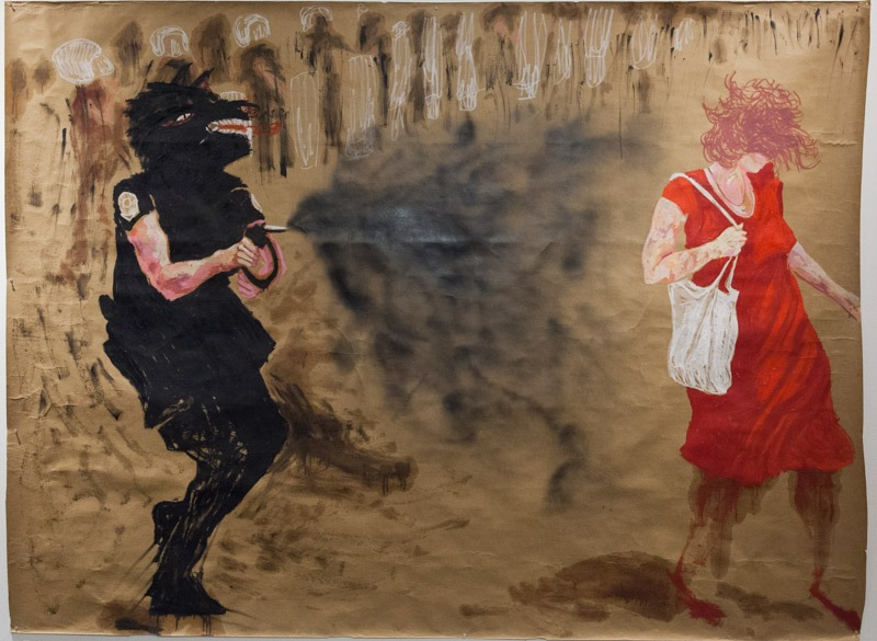 ציור של ענבל מנדס-פלור