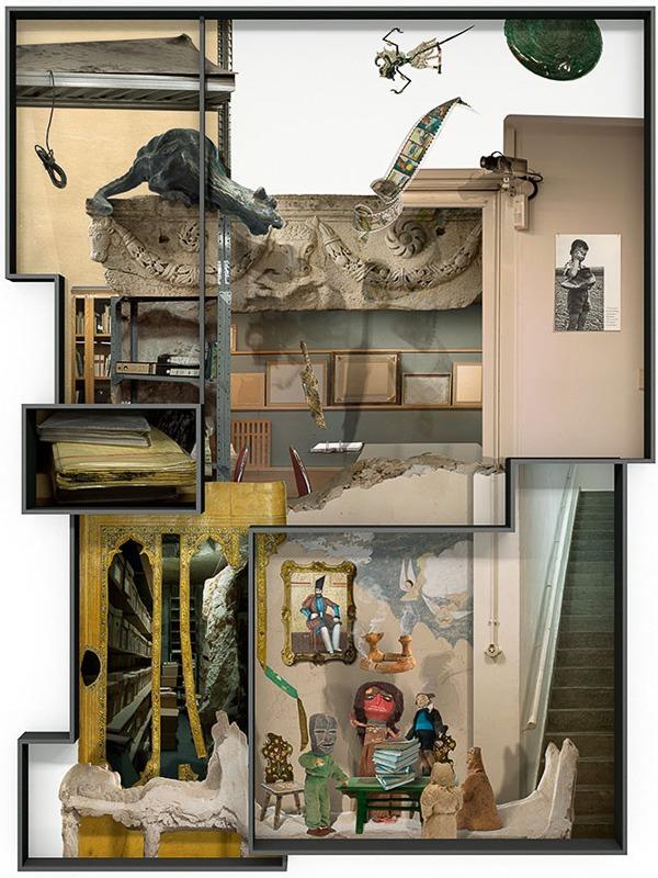 """עילית אזולאי, מתוך התערוכה """"עצם הדברים"""""""