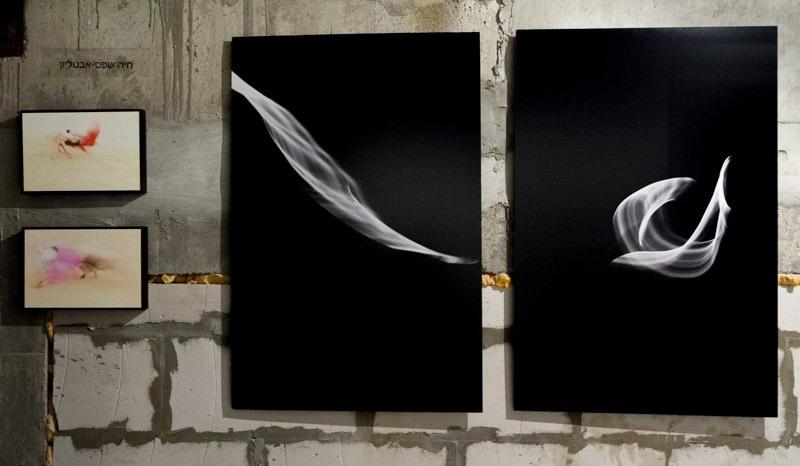 עבודות של חיה שפס אבטליון בתצוגת גלריית פלורנטין 45