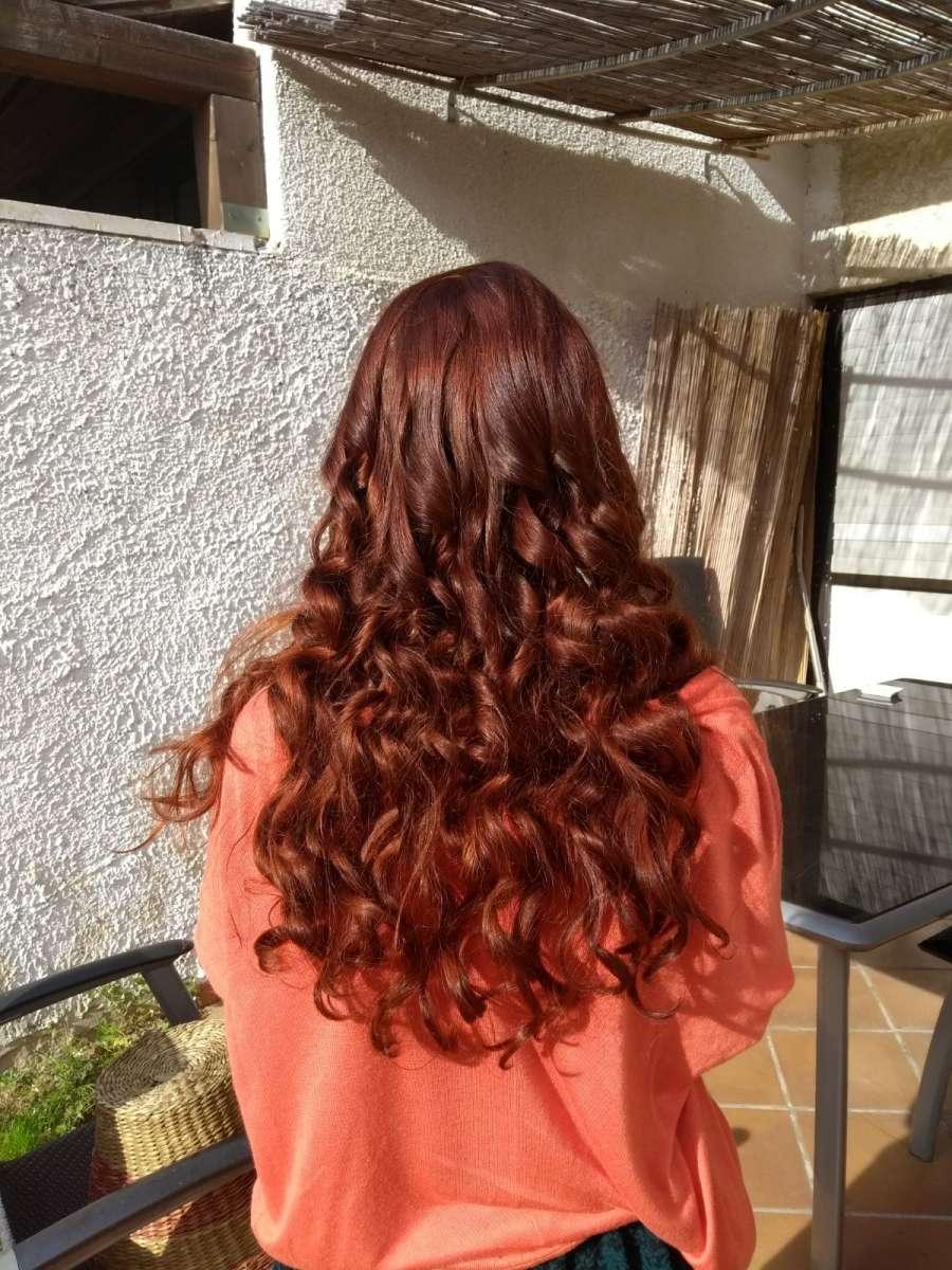 צבע חינה אדומה לשיער