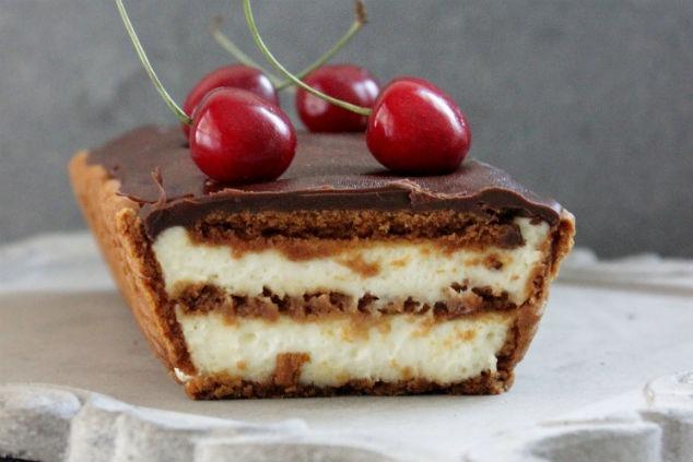 עוגת ביסקוויטים (צילום: מירב שיינר)