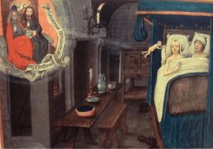 """""""איך באים ילדים לעולם"""" גרסת ימי הביניים"""