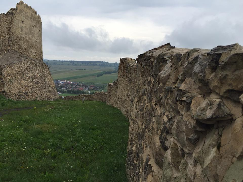 רומניה - נוף מהמצודה