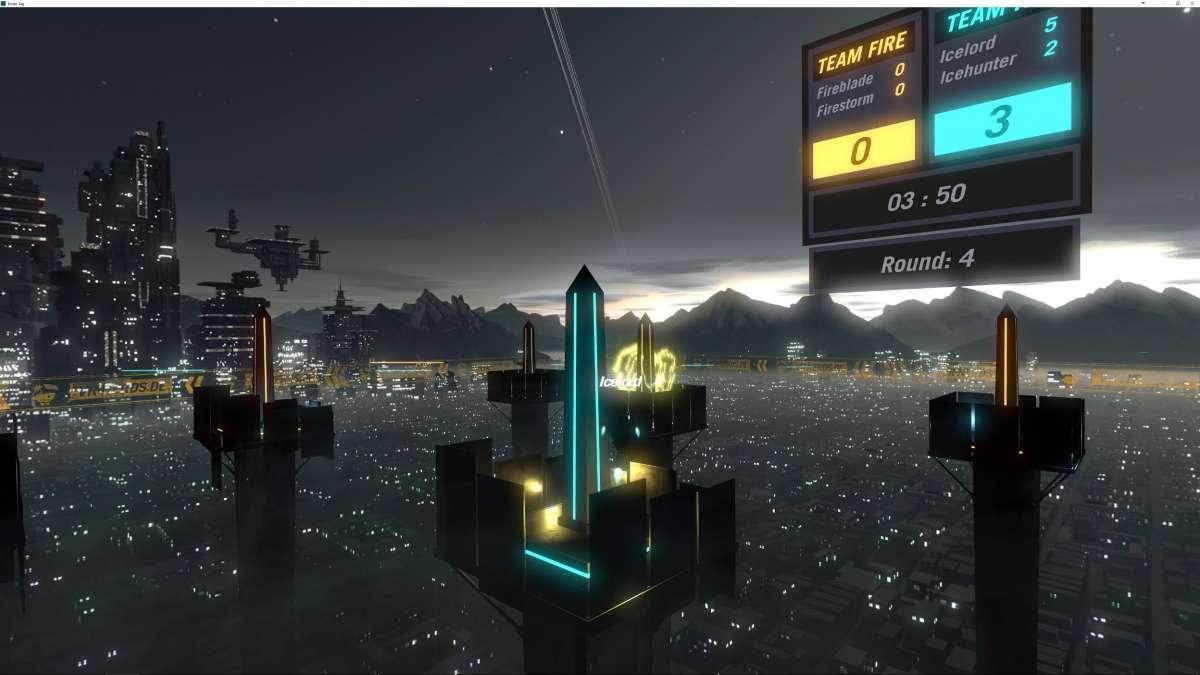 העולם המקביל של Tower-Tag (צילום: ארתור ארונוב)