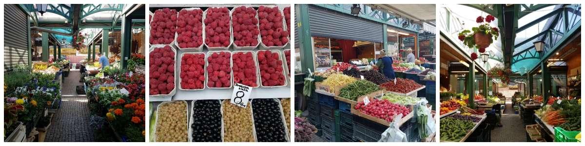 גדנסק השוק המקומי