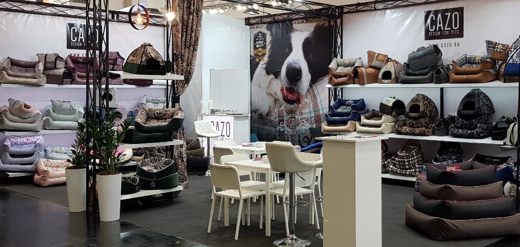 מיטות ומזרנים של cazo בתערוכה באירופה צילום: יצרן