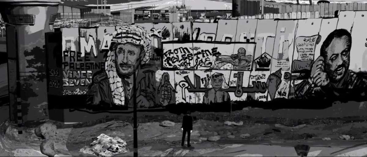 """מתוך """"קיר"""" - מבט אל חומת ההפרדה"""