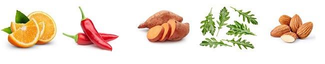 שקדים, אורוגולה, צ'ילי, תפוז- הירקות שיעזרו לכם להילחם בעייפות ( צילום: shutterstock By Maks Narodenko)